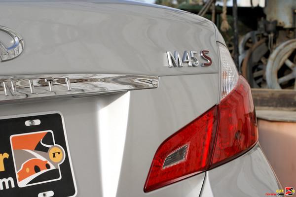 2009 Infiniti M45 - LED tail lights