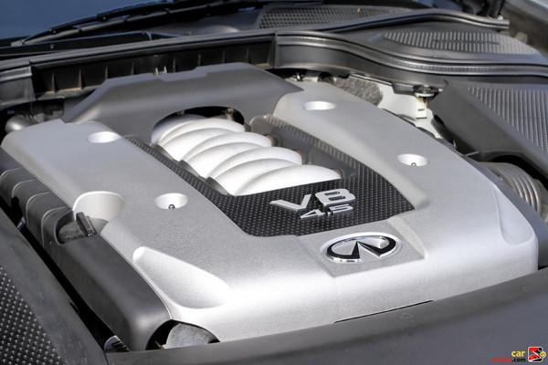 325 hp 4.5-liter 32-valve V8