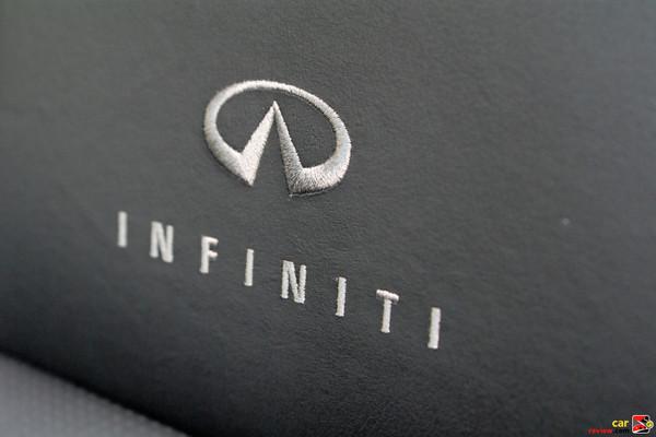 Infiniti custom stitching