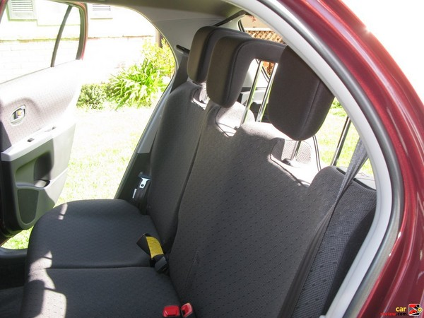 sport seats with sport fabric and head rests