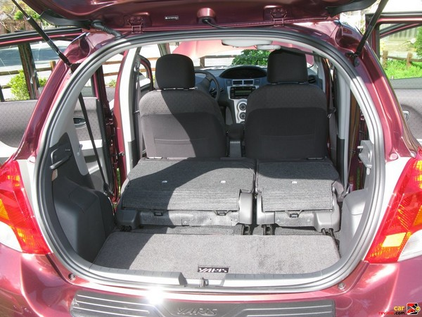 60/40 split, reclining, sliding, fold-flat rear seat
