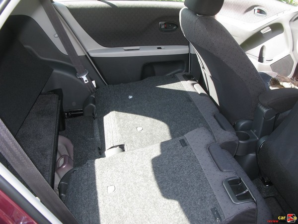 60/40 split, reclining, sliding, fold-flat rear seat