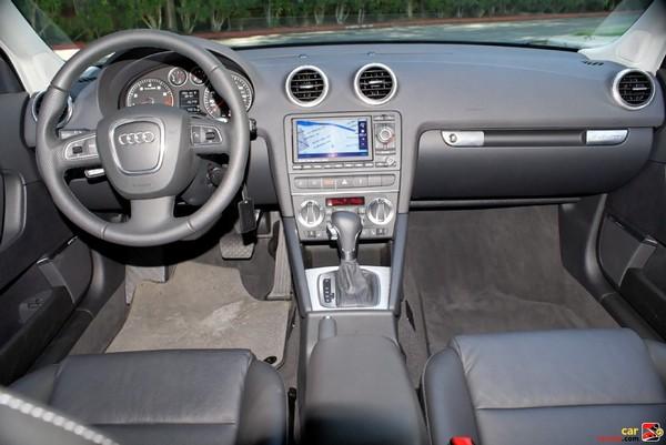 2009 Audi A3 interior
