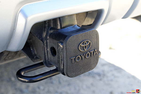 Integrated towing hitch receiver