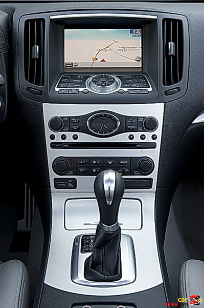 Infiniti Controller with 7-inch color LCD screen
