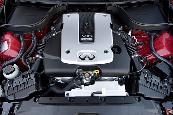 328 hp 3.7-liter (3,696cc) V6