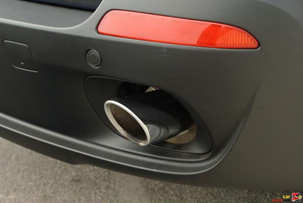 Chrome exhaust tips