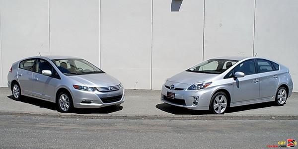 2010 Toyota Prius vs. Honda Insight