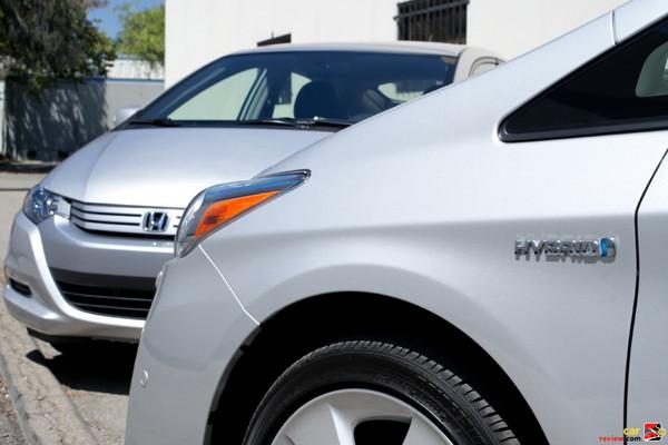 2010 Toyota Prius and Honda Insight