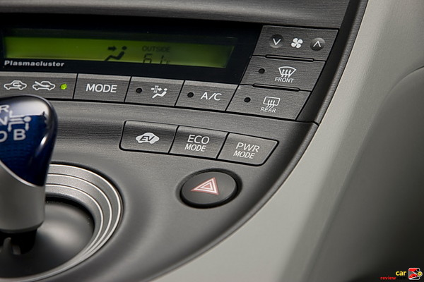 EV -ECO-Power mode switches