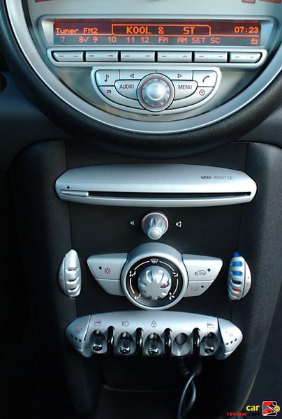 MINI Cooper center stack w/toggle switch controls