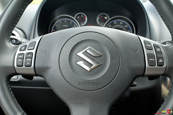Steering wheel mounted controls for audio, phone, and CC