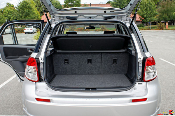 54 cubic feet of cargo space w/rear seats down
