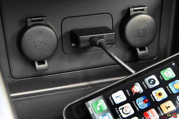 USB and auxiliary inputs w/iPod interface