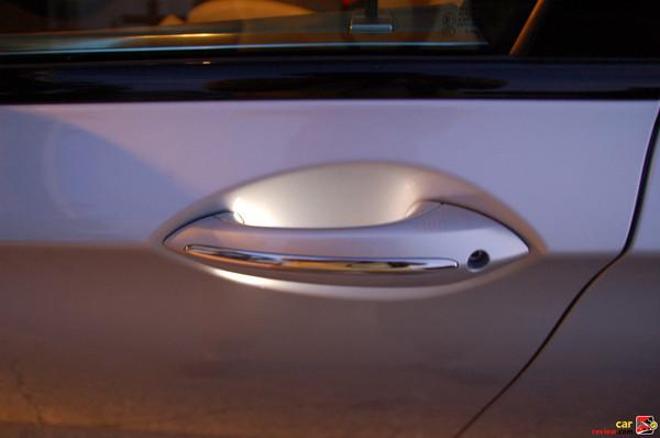 Back-lit illuminated door handles
