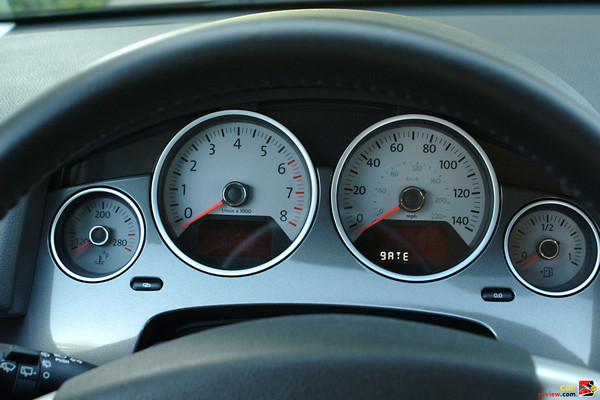 Highline instrument cluster
