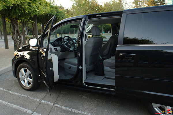 Dual Power-Sliding Doors with Power Windows