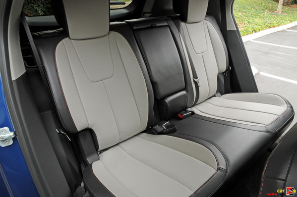 2010 Equinox rear seats