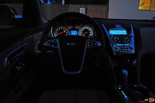 Interior night lighting
