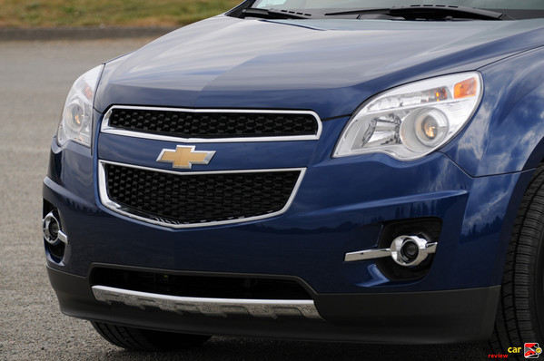 2010 Equinox front grille