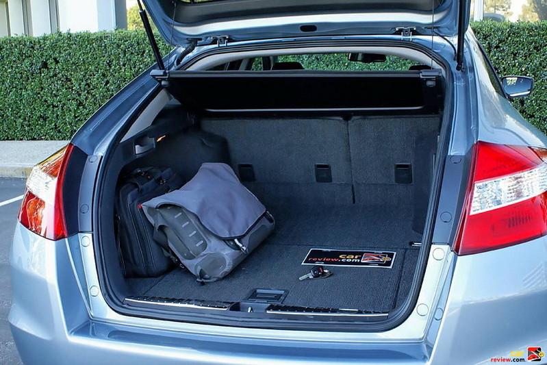 Honda Accord Crosstour Rear Cargo Area