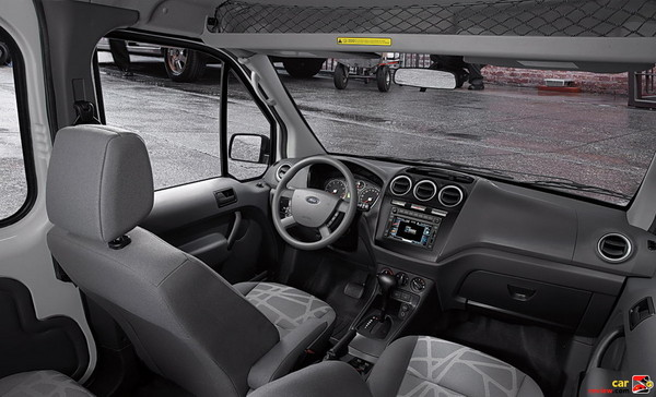 Ford Transit Connect front cabin