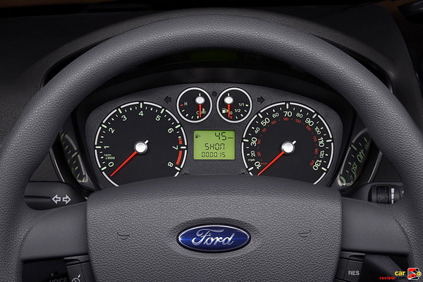 Ford Transit Connect instrument cluster