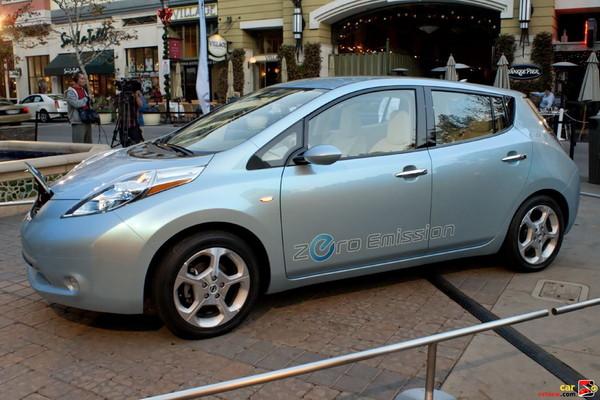 Nissan Leaf EV Concept