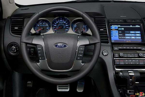 Ford Taurus SHO cockpit