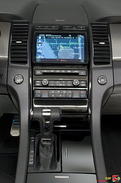 Ford Taurus SHO center console