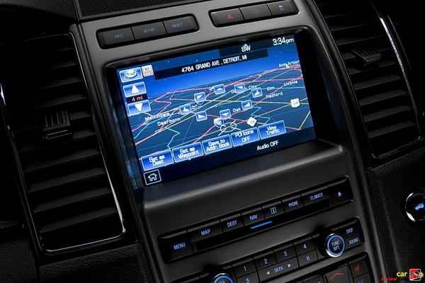 Ford Taurus Navigation System