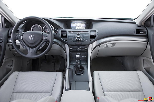 Acura TSX dual zone automatic climate control