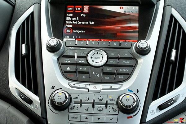 Audio system with navigation