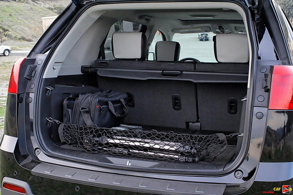 GMC Terrain Rear Cargo Area