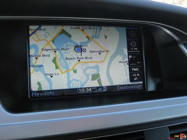 Audi Navigation Map
