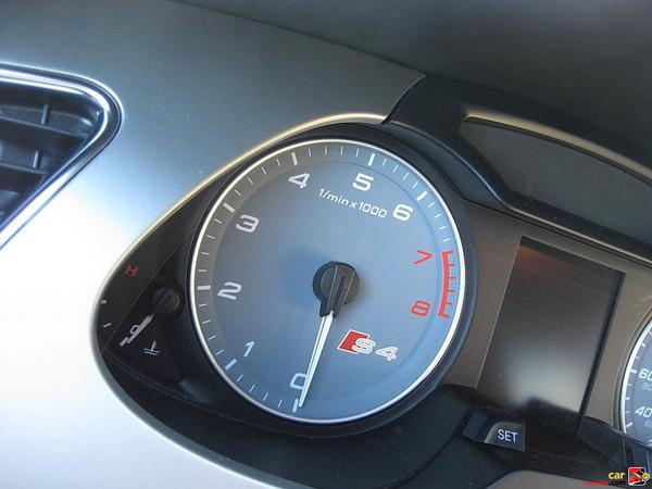 Audi S4 tachometer w/S4 emblem