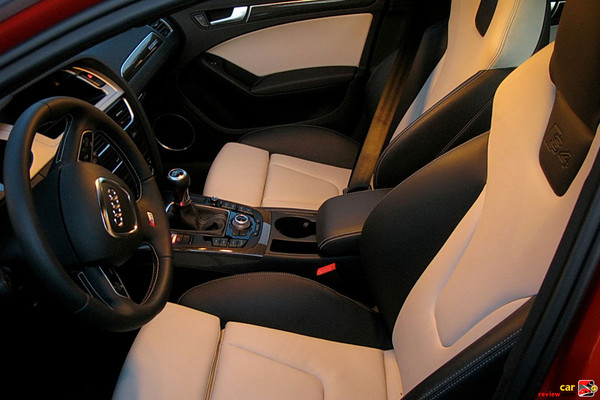 Silk nappa leather S4 sport seats