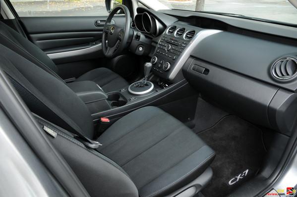 CX-7 front passenger seat