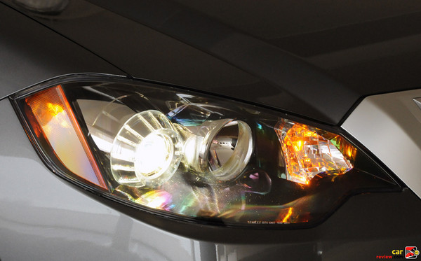 High-Intensity Discharge (HID) front headlights