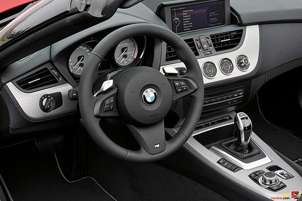 BMW Z4 driver's cockpit