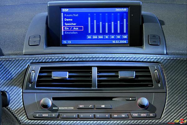 BMW Z4 pop-up display