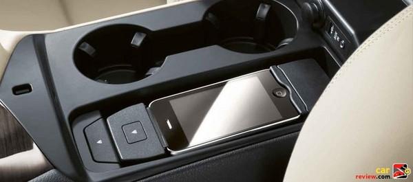 BMW Z4 iPod cradle/interface