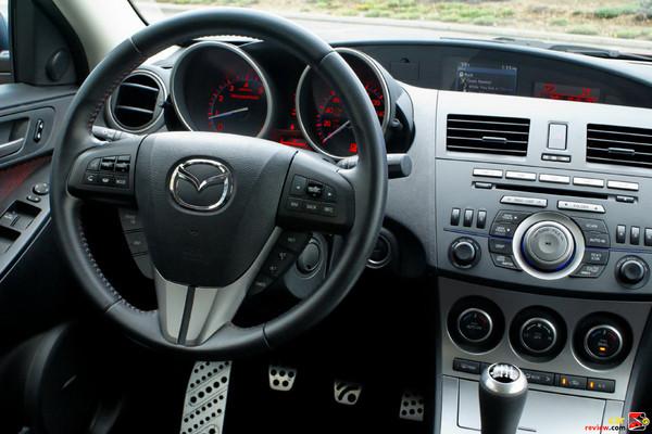 2010 Mazdaspeed3 driver's cockpit
