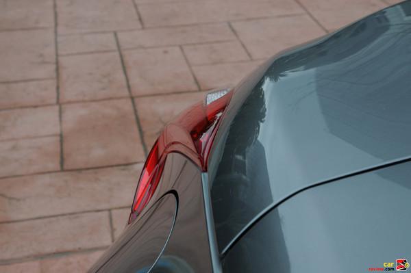 Tail light detail - three-dimensional