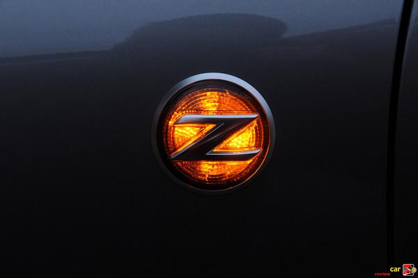 side emblem blinker on