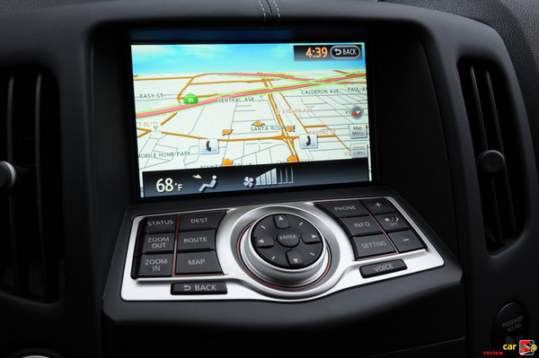Nav display doubles as HVAC display