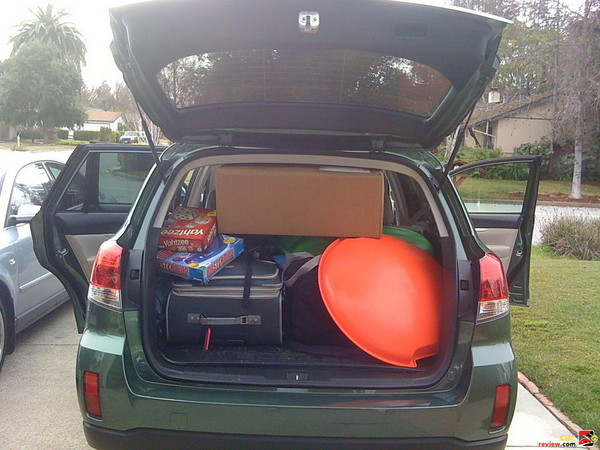 Can we fit more stuff into the Outback?