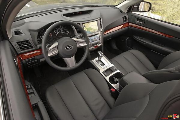 2010 Subaru Outback interior