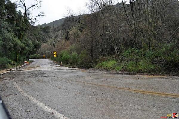 Heavy storms create road hazards