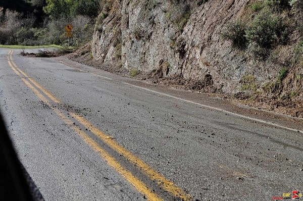 Heavy storms create road hazards